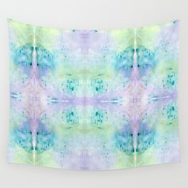 Under Water Leaves Wall Tapestry
