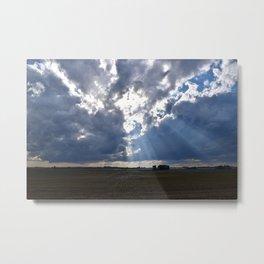 Midwestern Sky Metal Print