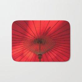 Red Parasol Bath Mat