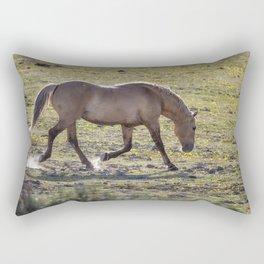 Moves of a Stallion Rectangular Pillow