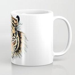 Tiger head watercolor Coffee Mug