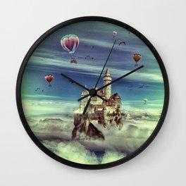 Laputa - Castle in the Sky Wall Clock