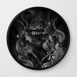The God Within Wall Clock