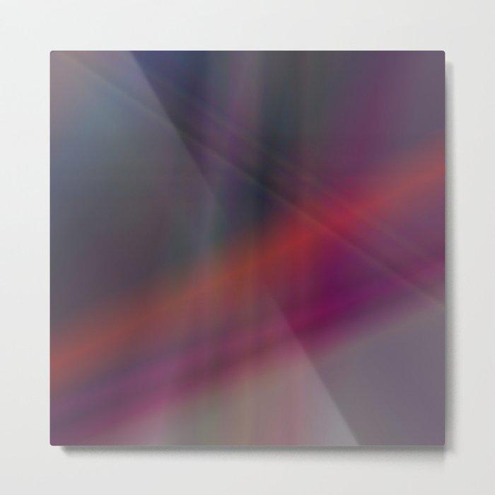 Dark abstract colors Metal Print