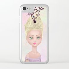 Spring Queen Clear iPhone Case