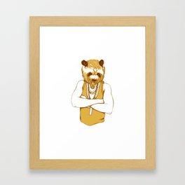 Bear - Panda - You're a Beast Framed Art Print