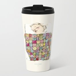 sleeping child Metal Travel Mug