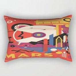 Mars Tour : Space Galaxy Rectangular Pillow