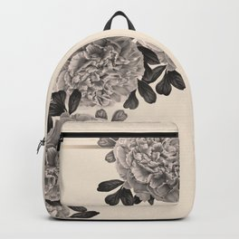 Flowers on a winter day Backpack
