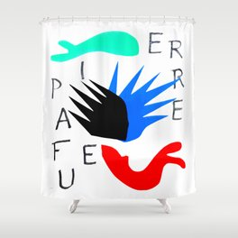 Pierre a Feu by Henri Matisse Artwork For Posters Tshirts Prints Bags Men Women Youth Shower Curtain