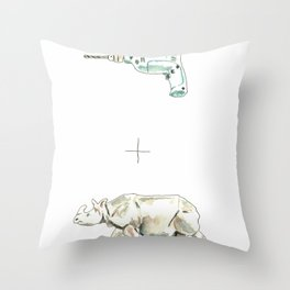 Drilled Throw Pillow