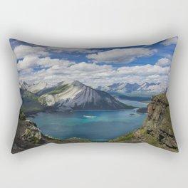 Worth the hike Rectangular Pillow