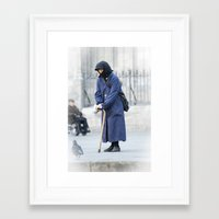 spanish Framed Art Prints featuring Spanish Nun  by Rob Hawkins Photography
