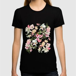 Floral Art Floral Vale Pewter T-shirt