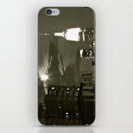 NYC under the moon iPhone Skin