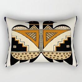 Mimbres Twin Birds Rectangular Pillow