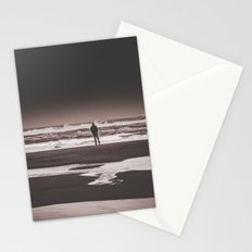Ocean Beach Wanderlust - Deep Sea Meditation in Oregon Stationery Cards