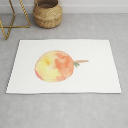Lonely Objects 4 | Abstract Watercolors Rug