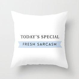 Fresh Sarcasm Throw Pillow