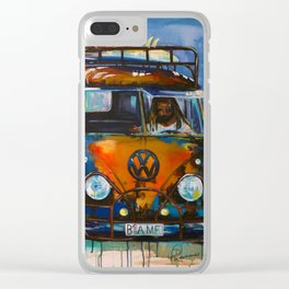 BAMF Bus Clear iPhone Case