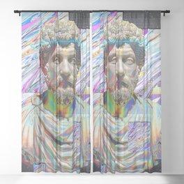 Marcus Aurelius Sheer Curtain