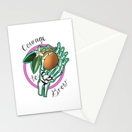 Courage to Grow Stationery Cards