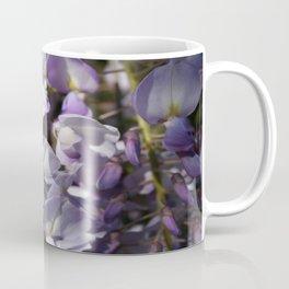Close Up Of Lavender Wisteria Blossom Coffee Mug