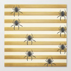 Descending Spiders Canvas Print