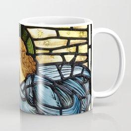 "Edward Burne-Jones ""The morning star"" Coffee Mug"