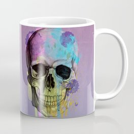 skull in purple and dripping  Coffee Mug