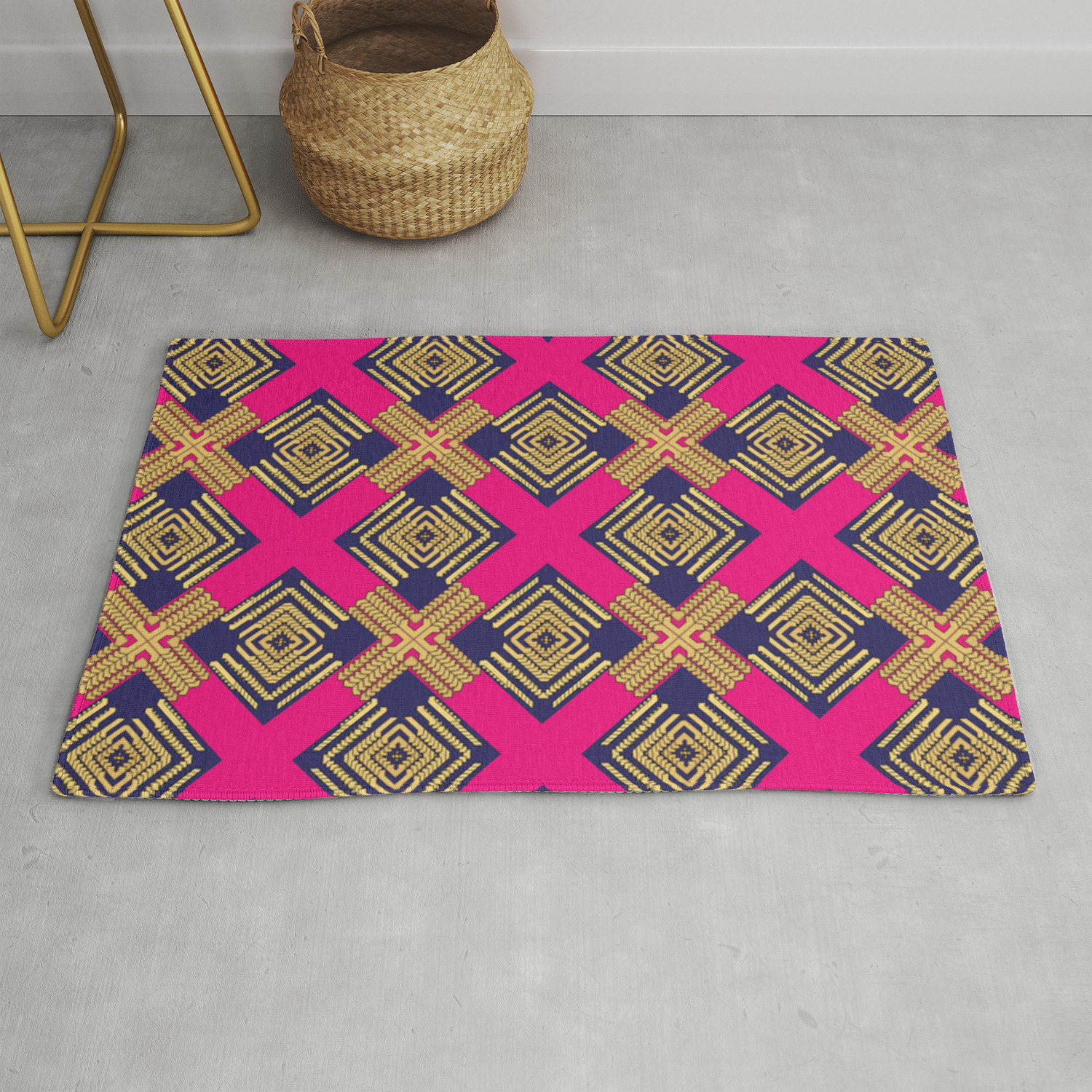 Familia X Marks The Spot Rug By