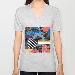 Abstract Art Pattern Artist Or Designer Gift Unisex V-Neck