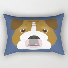 English Bulldog Rectangular Pillow
