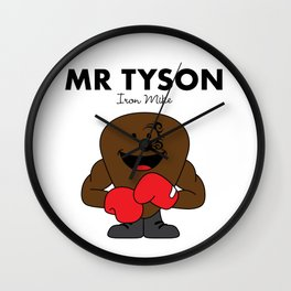 Mr Tyson Wall Clock