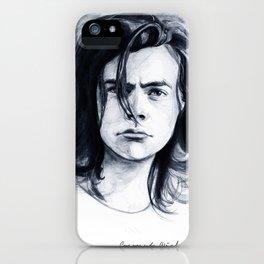Harry Watercolors B/N iPhone Case
