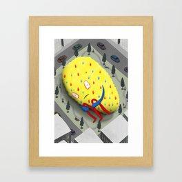 Urban Anxiety Framed Art Print