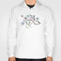 goddess Hoodies featuring Goddess by G_Stevenson