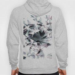 Modern Black and White Diamond Abstract Geometric Hoody