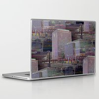 the office Laptop & iPad Skins featuring office Dayze by David  Gough