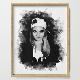 Cara Delevingne Serving Tray