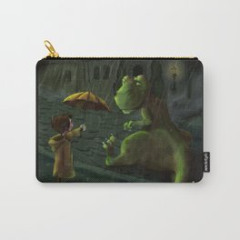 Friends In Rain Carry-All Pouch