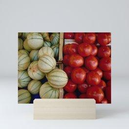 Melons and Tomatoes Mini Art Print