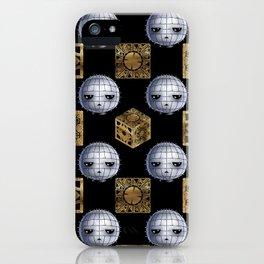 Chibi Pinhead & Puzzle Boxes iPhone Case