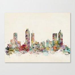 Atlanta georgia skyline Canvas Print