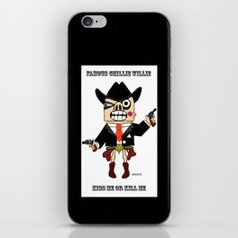 western famous chillie willie 1 iPhone Skin