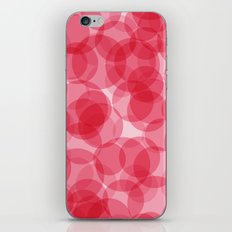 Celebrate with pink! iPhone & iPod Skin