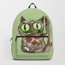 Tortoiseshell cat Backpack