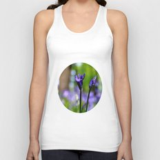 drowning in the bluebell sea Unisex Tank Top