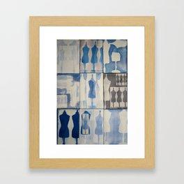 mannequins Framed Art Print