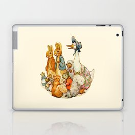 Bedtime Story Animals Laptop & iPad Skin